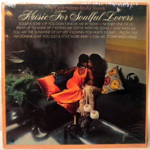 THE CECIL HOLMES SOULFUL SOUNDS - Music for soulful lovers - 33T