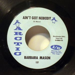 BARBARA MASON - Oh how it hurts / Ain't got nobody - 45T (SP 2 titres)