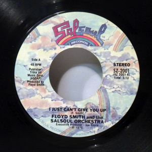 FLOYD SMITH - I just can't give you up- - 45T (SP 2 titres)