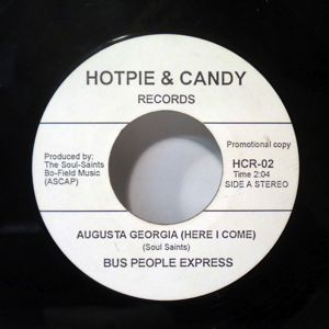 BUS PEOPLE EXPRESS - Augusta Georgia - 45T (SP 2 titres)