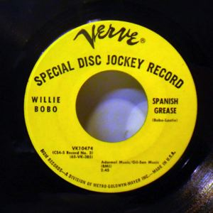 WILLIE BOBO - Spanish grease - 45T (SP 2 titres)