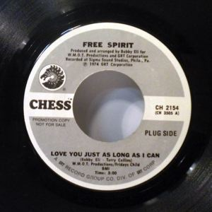 FREE SPIRIT - Love you just as long as I can - 45T (SP 2 titres)