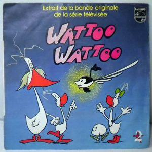 HUBERT BALLAY - Wattoo wattoo - 45T (SP 2 titres)