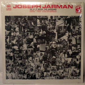 JOSEPH JARMAN - As If It Were The Seasons - LP