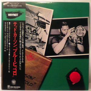 TED CURSON - Blue Piccolo - LP