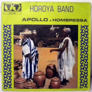 HOROYA BAND - Apollo  / Hombressa - 45T (SP 2 titres)