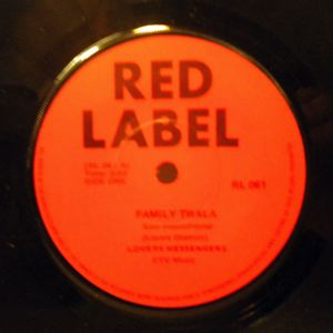LOVERS MESSENGERS - Family Twala / Beat sizika - 7inch (SP)
