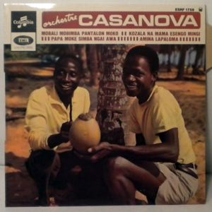 ORCHESTRE CASANOVA - Mobali mobimba Pantalon Moko EP - 7inch (SP)