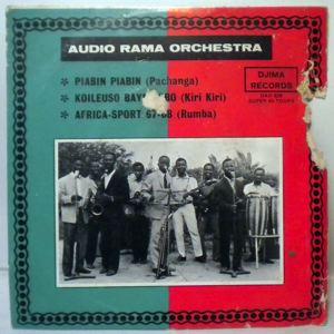 AUDIO RAMA ORCHESTRA - Piabin piabin EP - 7inch (SP)