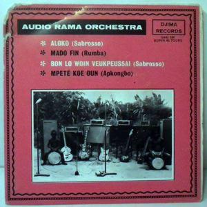 AUDIO RAMA ORCHESTRA - Aloko EP - 7inch (SP)