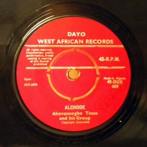 AHOVANOOGBO TOSSA AND HIS GROUP - Azinnagnonan / Alchode - 7inch (SP)