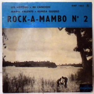 ORCHESTRE ROCK A MAMBO - Les voyous EP - 7inch (SP)