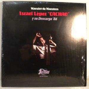 CACHAO Y SU DESCARGA 86 - Maestro De Maestros - LP