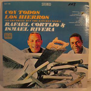 ISMAEL RIVERA CON CORTIJO Y SU COMBO - Con Todos Los Hierros - LP