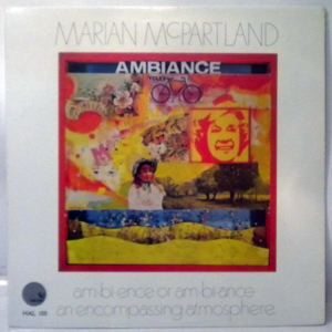 MARIAN MCPARTLAND - Ambiance - LP