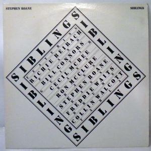 STEPHEN ROANE - Siblings - LP