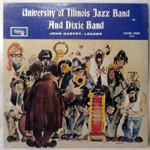 UNIVERSITY OF ILLINOIS JAZZ BAND - And Dixie Band - LP