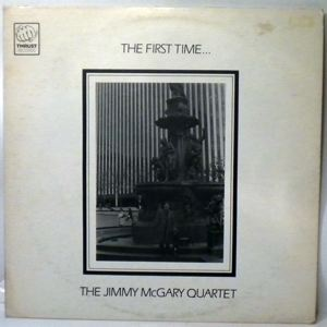 THE JIMMY MCGARY QUARTET - The First Time - LP