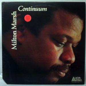 MILTON MARSH - Continuum - LP