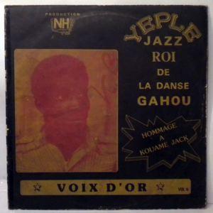 YEPLE JAZZ - La voix d'or Vol. 4 - LP