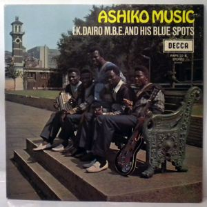 I.K. DAIRO & HIS BLUE SPOTS - Ashiko music - LP