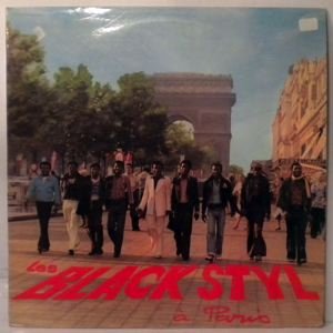 LES BLACK STYL - A Paris - LP
