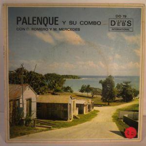 PALENQUE Y SU COMBO - Pajard chogui EP - 7inch (SP)