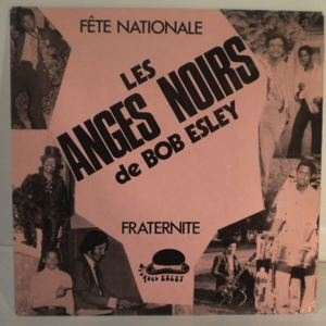 LES ANGES NOIRS - Fete nationale - 7inch (SP)