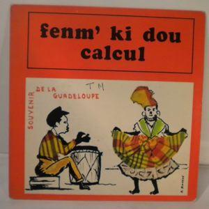 J. COMPERE / E. VALIER - Femm ki dou / Calcul - 7inch (SP)