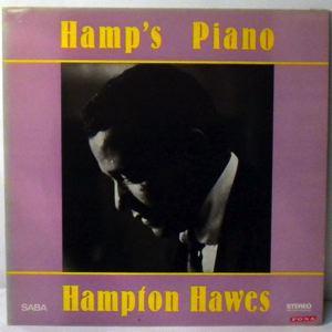 HAMPTON HAWES - Hamp's Piano - LP