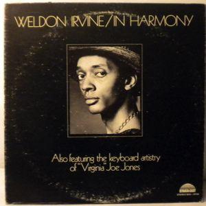 WELDON IRVINE - In Harmony - LP