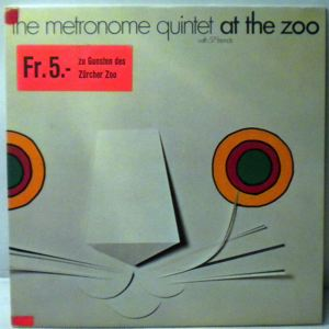 THE METRONOME QUINTET - At The Zoo - LP