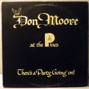 DON MOORE - There's a party going on! - LP