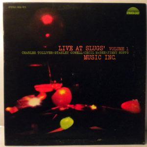 MUSIC INC - Live At Slugs' Volume 1 - LP