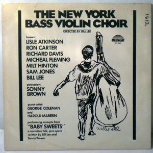 BILL LEE - The New York Bass Violin Choir - LP