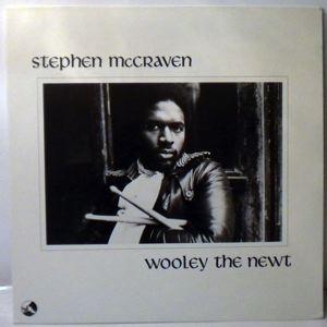 STEPHEN MCCRAVEN - Wooley The Newt - LP