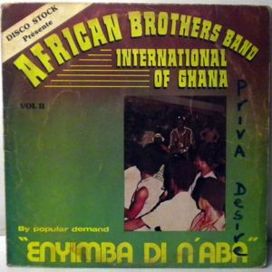 AFRICAN BROTHERS BAND INTERNATIONAL - Enyimba di naba Vol. 2 - LP