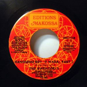 THE RWENZORI'S - Handsome Boy - 45 RPM (SP 2 títulos)