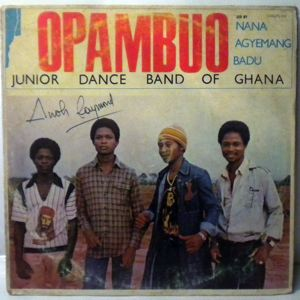 OPAMBUO JUNIOR DANCE BAND OF GHANA - Same - 33T