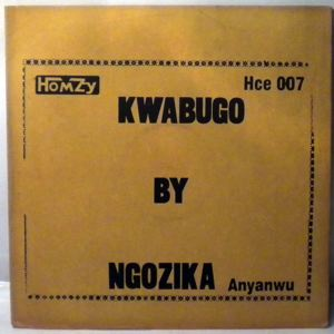 NGOZIKA & BROS DANCE BAND - Kwabugo - 33T