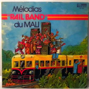 MELODIAS RAIL BAND DU MALI - Same - 33T