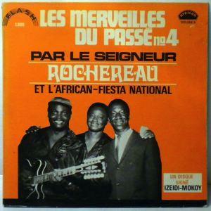 LE SEIGNEUR ROCHEREAU ET L'ORCHESTRE AFRICAN FIEST - Les merveilles du passe N¡4 - LP