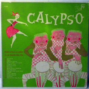 GERALDO LA VINY - Calypso - LP