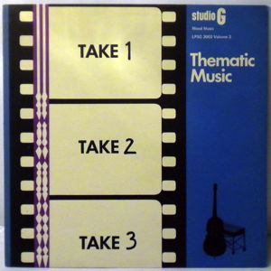 VARIOUS - Thematic Music Volume 3 - LP