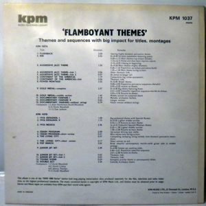 VARIOUS - Flamboyant Themes - LP