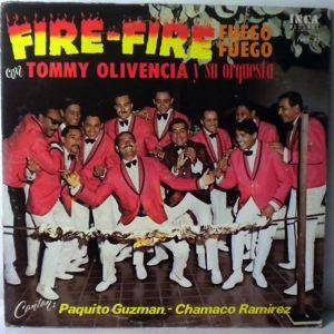 TOMMY OLIVENCIA Y SU ORQUESTA - Fire-Fire (Fuego Fuego) - LP