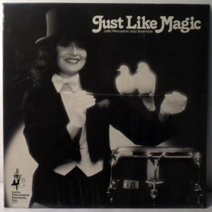 LATIN PERCUSSION JAZZ ENSEMBLE - Just Like Magic - LP