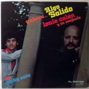 LOUIE COLON Y SU COMBO - Algo Solido - 33T