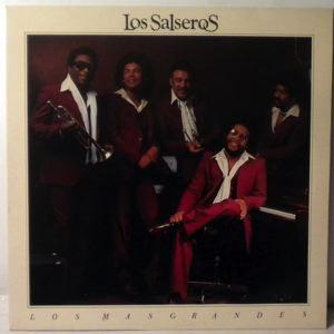 LOS SALSEROS - Los Mas Grandes - LP
