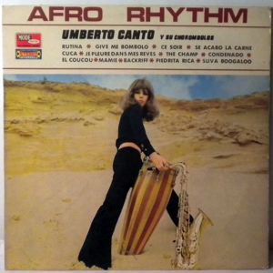 UMBERTO CANTO Y SU CHOROMBOLOS - Afro Rhythm - 33T